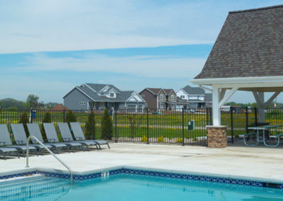 Woodfield Prairie Subdivision, park, pool house, community swimming pool, private pool, wisconsin model homes, Vacant Lots For Sale in Hobart, Woodfield Prairie Subdivision hobart wi