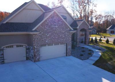 building a custom home, custom builders near me, custom made houses, drone aerial photographers in wi