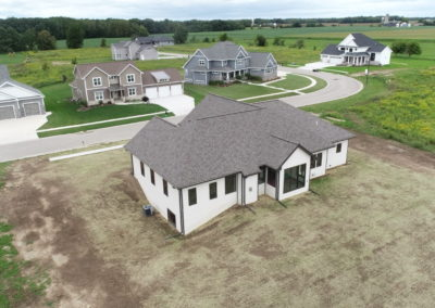 home planning, new home floor plans, home construction management,Atkins Family Builders, drone photos